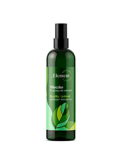 Element bazylia - mleczko w sprayu do włosów