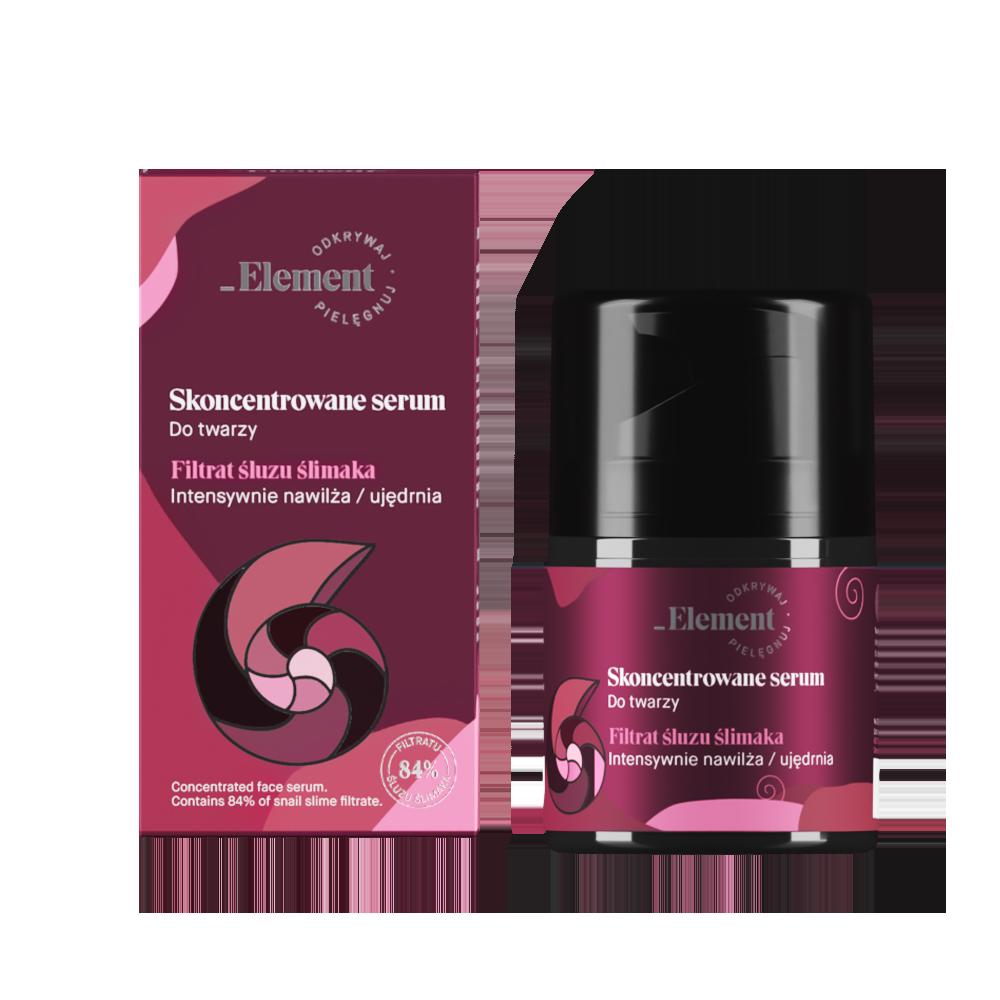 Element Filtrat Śluzu Ślimaka - serum do twarzy ze śluzem ślimaka