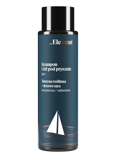 Element Men - szampon i żel pod prysznic w 2w1